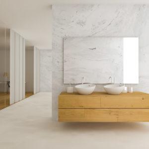 badkamermeubel op maat zwevend badkamermeubel op maat gemaakt