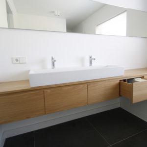 BK03 badkamermeubel op maat zwevend badkamer meubel ladenkast1