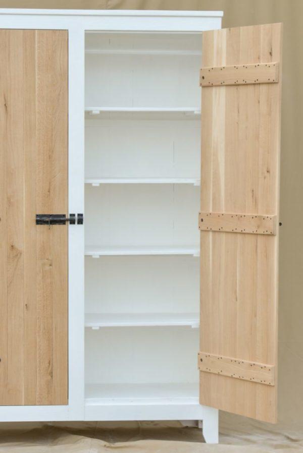 k13 sloophouten kast witte slaapkamerkast opbergkast speelgoedkast op maat gemaakt 1