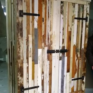 k16 witte sloophouten kast slaapkamerkast sloophout opbergkast witte kast inlegkast opbergkast hangkast
