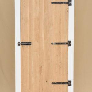 k18 sloophouten kast witte slaapkamerkast opbergkast speelgoedkast op maat gemaakt