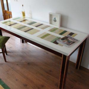 t03 sloophouten tafel op maat gemaakt