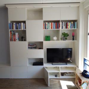 K50 wandkast tv kast witte kast kasten op maat gemaakt design kast 1