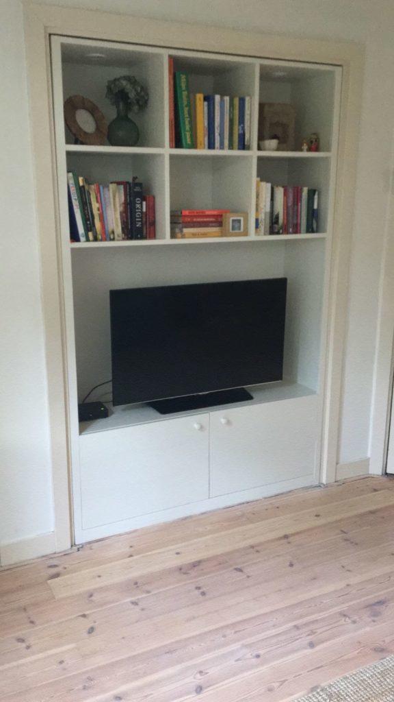 K51 boekenkast inbouwkast kast op maat inbouwboekenkast 1