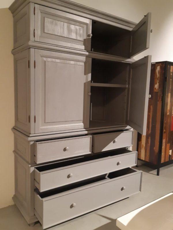 Corina kinderkast opbergkast kledingkast vintage ladenkast meubels op maat
