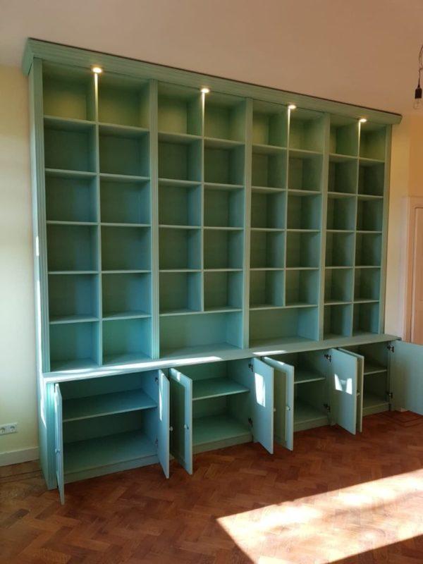 K53 boekenkast inbouwkast kast op maat inbouwboekenkast 1